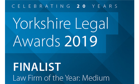 Yorkshire Legal Awards Blacks Solicitors LLP Leeds