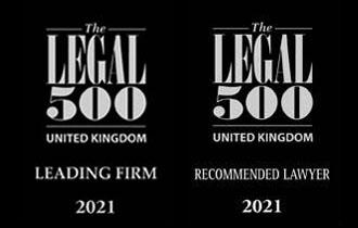 Legal 500 logos homepage